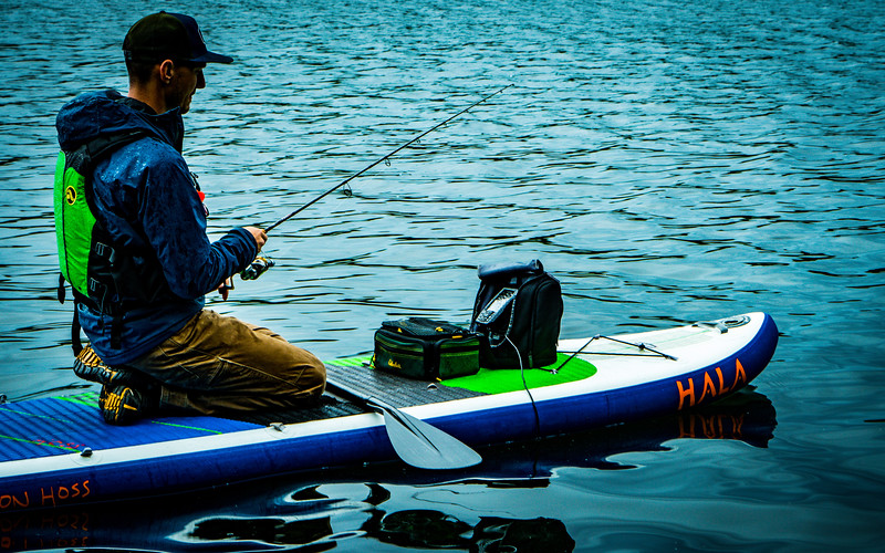 Digging the depth finder on the SUP, but needs slight mod to make it even better!