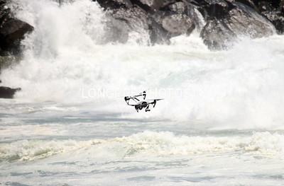 DRONE dangerously low.