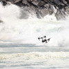 This DRONE is very close to getting swamped.  Didn't happen !