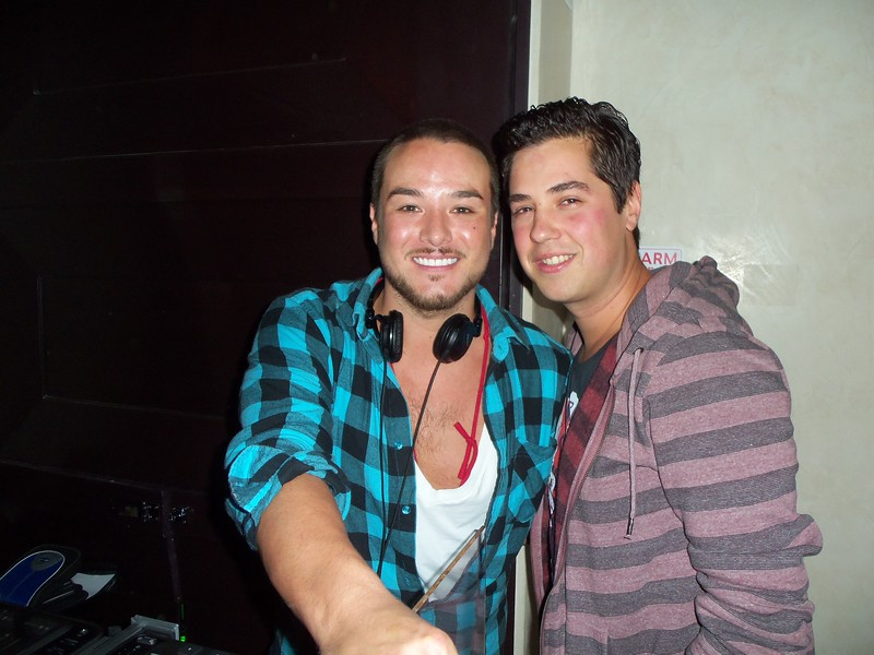 DJ Colin Kim and Ray Gallardo