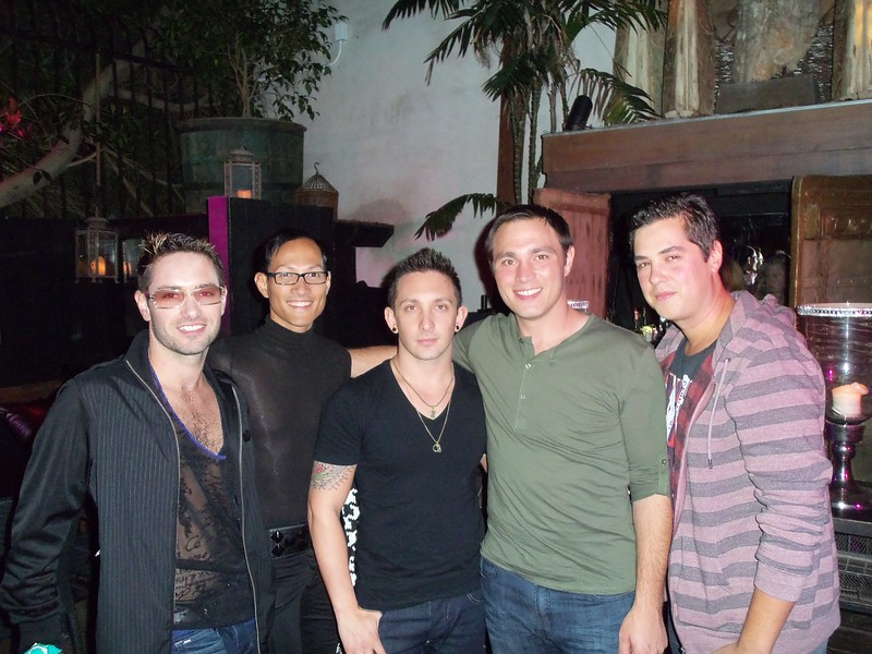 Paul, Chester, Justin, Me (Jesse) and Ray.