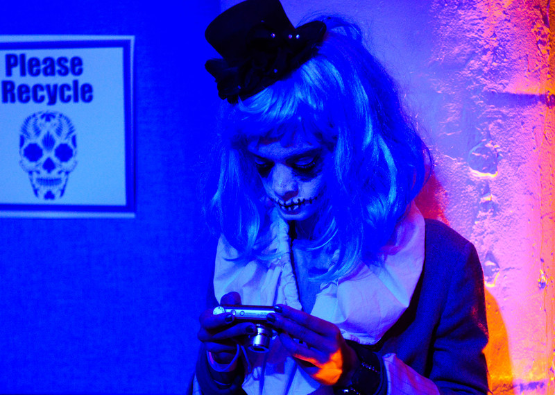 Dia de los Muertos: The Art of Rememberance costume party at the Torpedo Factory Friday night.