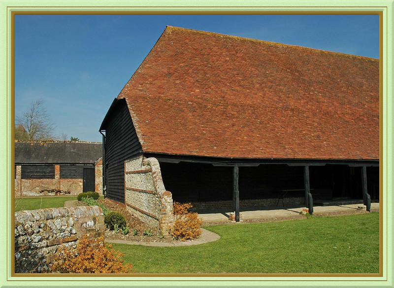 Barn at Michelham Priory