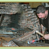 The blacksmiths shop at Michelham Priory