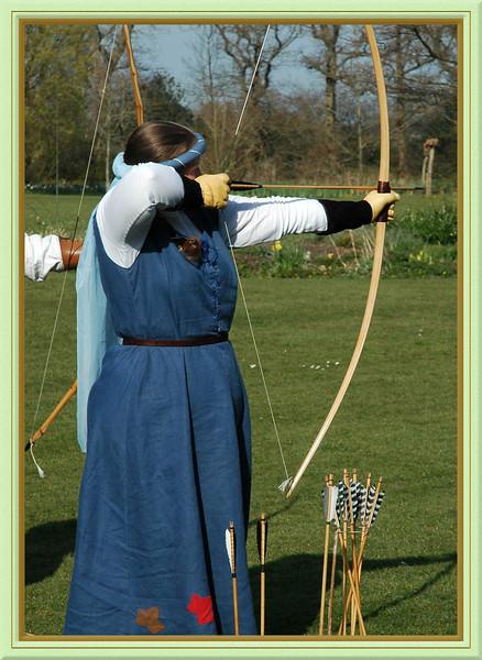 Archery at Michelham Priory