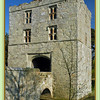 Gatehouse and moat at Michelham Priory