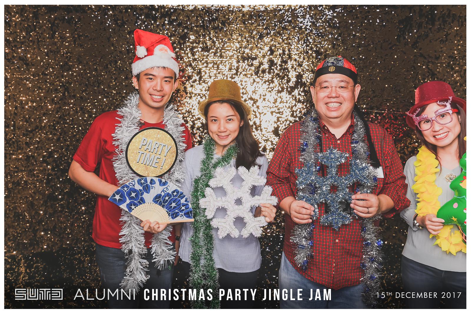 SUTD Christmas Party Jingle Jam 2017 | © www.SRSLYPhotobooth.sg