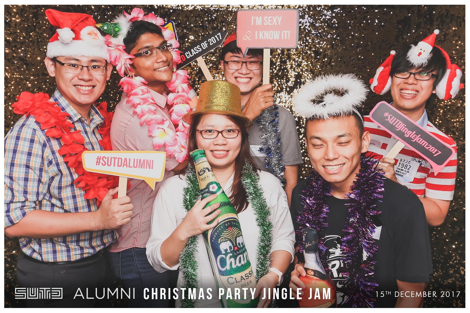 SUTD Christmas Party Jingle Jam 2017   © www.SRSLYPhotobooth.sg