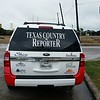 Ford Expedition with custom designed vinyl wrap for Texas Country Reporter