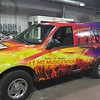 Ford Expedition with custom designed full wrap for Dallas' own 106.1 Kiss FM