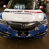 2016 Acura MDX with custom designed SkinzWrap for Paragon Acura, Woodside NY