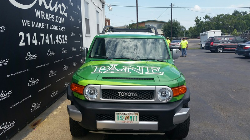 Toyota Truck Wrap, Dallas, TX