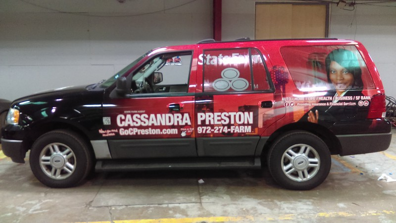 2006 Ford Expedition, Custom design and install for State Farm, Dallas, TX