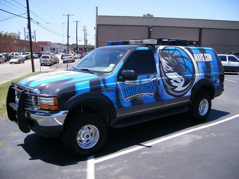 Dallas Mavericks Mav.com SkinzWraps