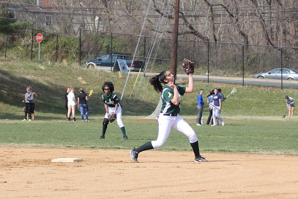 SV JV softball vs. Quince Orchard HS March 24. 2017