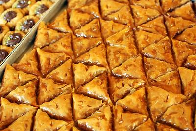 Baklava, Beneth Food Hall & Bakery, Athens, Greece