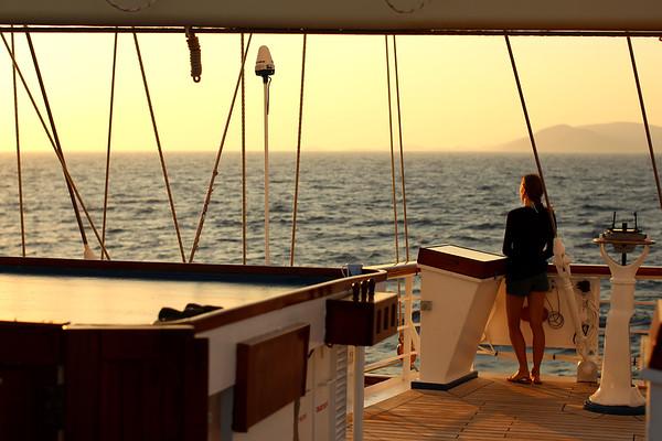 Sunrise, S/V Star Clipper, The Aegean Sea
