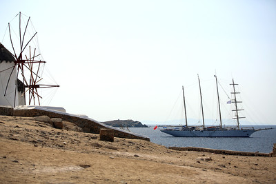 S/V Star Clipper, Mykonos, Greece