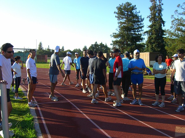 Week 16 Track workout