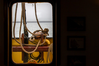 016 Norderlicht cabin window © David Bickerstaff