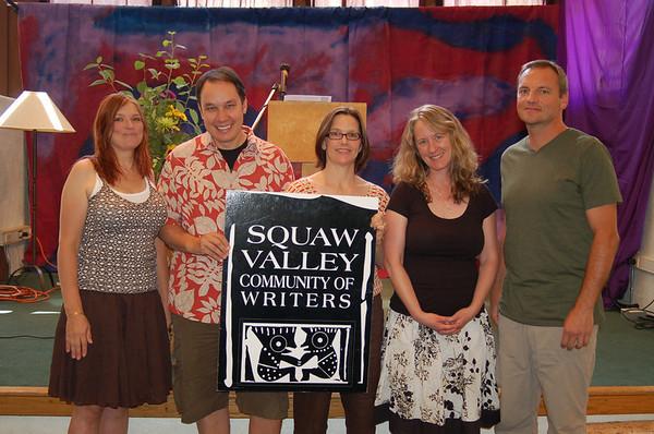 Writers Workshops 2009<br /> Published Alumni Reading: Julie Flynn Siler, Jamie Ford, Frances Dinkelspiel, Vicki Forman, David Bajo