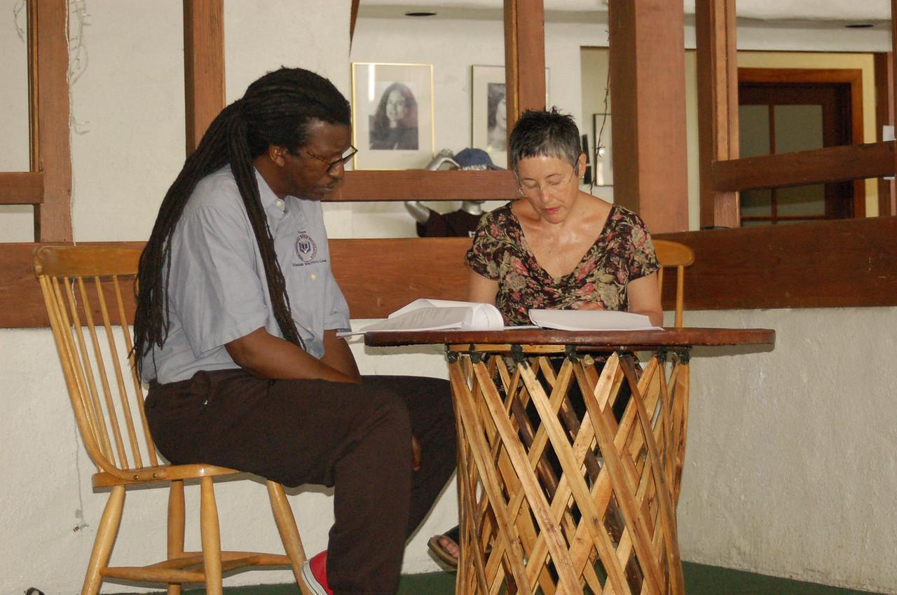 Poetry Program Cornelius Eady Individual Conference