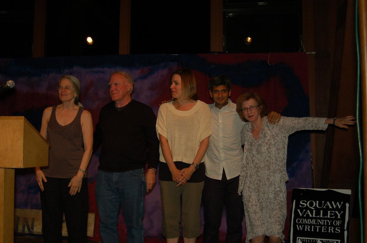 Poetry 2012 Poetry Reading Sharon, Bob, Katie, Kazim and C.D.