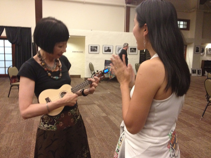 Writers Workshops 2012<br /> Kim Teoh teaches the Amy Tan Ukelele