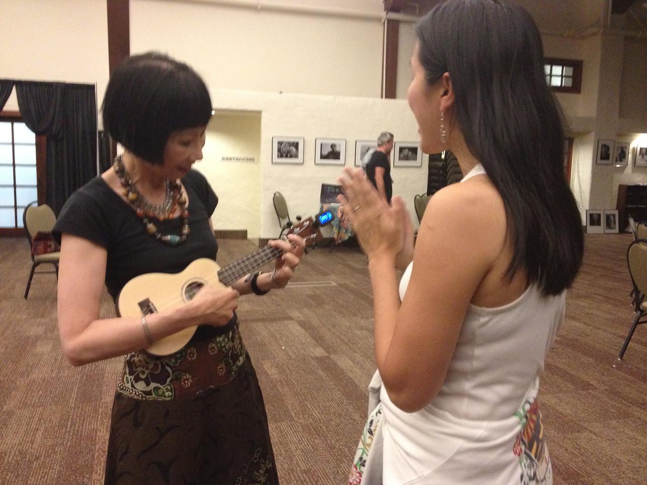Writers Workshops 2012 Kim Teoh teaches the Amy Tan Ukelele