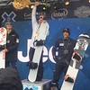Konstantin Schad wird Dritter bei den X Games hinter Jarryd Hughes (AUS) und Alex Pullin (AUS)