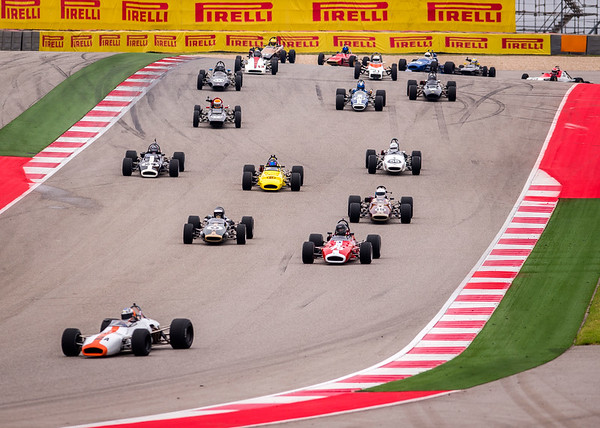 Group 2 Start - Turn 1 - 2 @ COTA