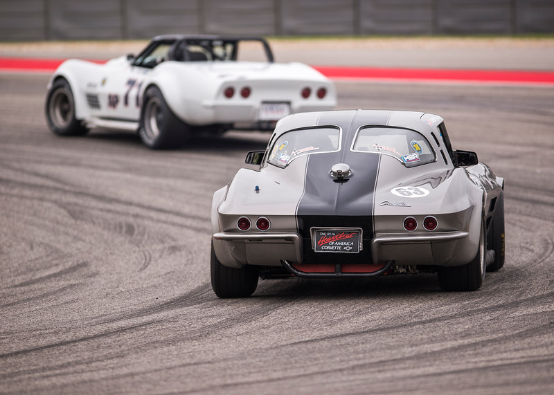 1963 Corvette Fastback  Splitwindow - Group 6 SVRA
