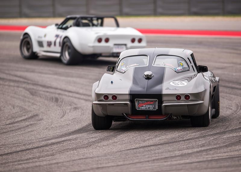 1963 Corvette Fastback  Splitwindow - Group 6 SVRA