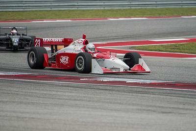 2002 G Force Indy Car - Driver: Jim Johnston