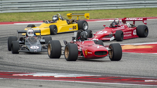 7a: 1967 Scarbo SvF1 - 8: 1973 Brabham BT80 - 43: 1980 Ralt RT4 - 80: 1980 March 80a/79 Aero