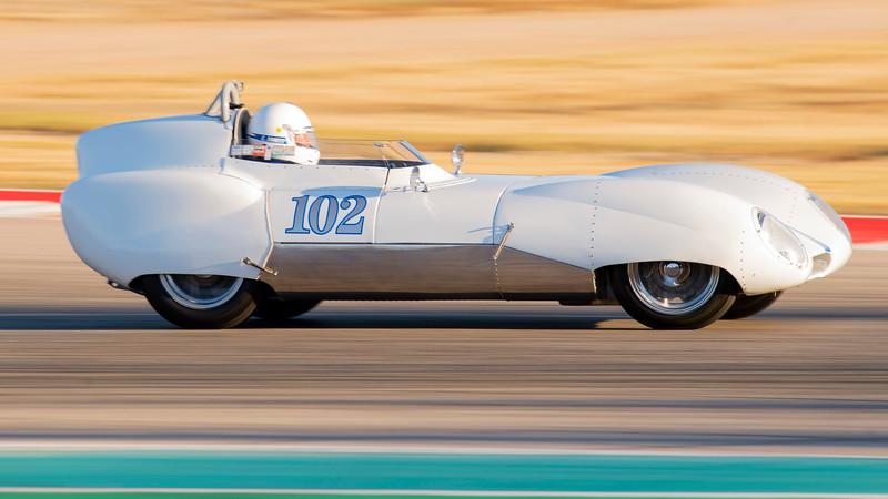 1957 Lotus 11 Le Mans, SVRA, COTA