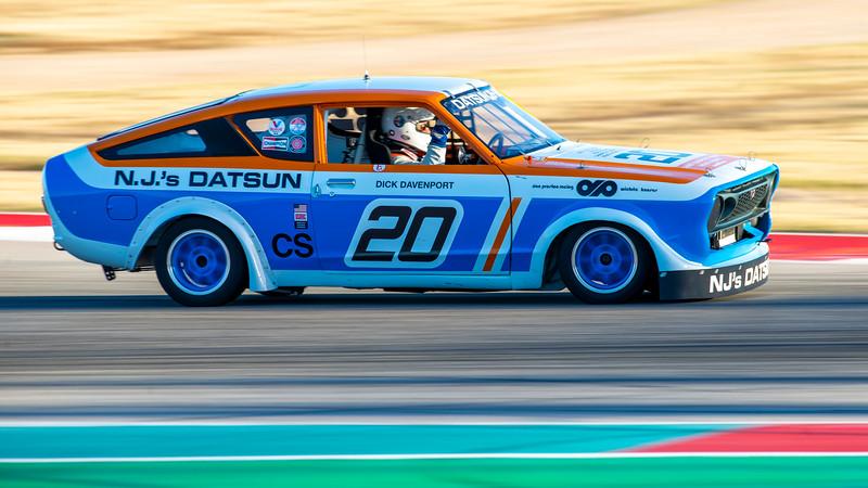Datsun Reunion Race, SVRA, COTA