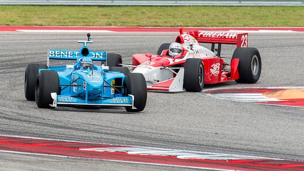 1998 F1 vs 2002 IRL
