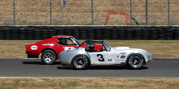 SVRA Portland Vintage Racing and TransAm West 2017 - On-track Action