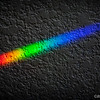 """<center><span style=""""color:#FF3300""""><font size=""""4"""" face=""""Arial"""">Deconstructed Light - Separation of light wavelength through a prism.<br>Tyree Phillips</span></font></center>"""