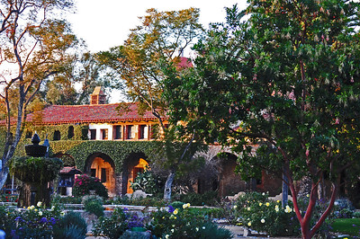 San Juan Capistrano Mission Photoshop to make it look more like a painting.