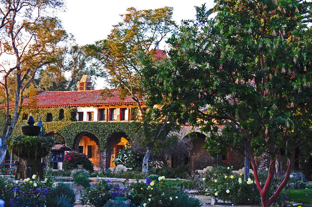 San Juan Capistrano Mission<br /> Photoshop to make it look more like a painting.