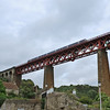 A 3-car class 170 above North Queensferry