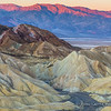 Gower Gulch, Death Valley and The Panamint Range