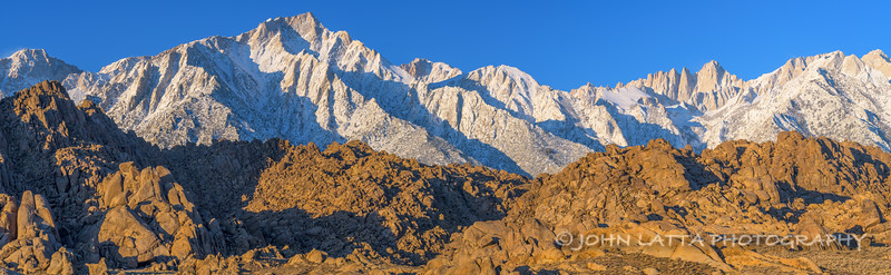 East Face of the Sierras