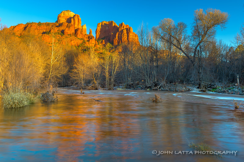 Cathedral Rocks from Oak Creek
