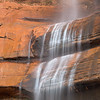 Waterfall Detail, Near Temple of Sinawava