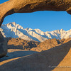 Eastern Sierras from Mobius Arch