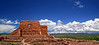 Pecos Pueblo Church +Sky_Panorama02 x2 Enh-crp