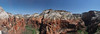 Angel Landing Vista Up Canyon